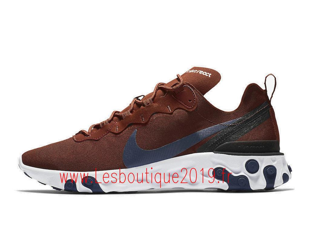 Nike React Element 55 Chaussures Officiel 2019 Pas Cher Pour Homme Rouge  BQ6166-600 - 1901111249 - Achetez de Chaussure de Baskets ! Nike en ligne!